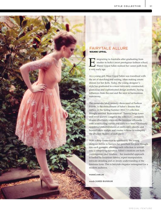 FashionTrend Wanni Uppal article