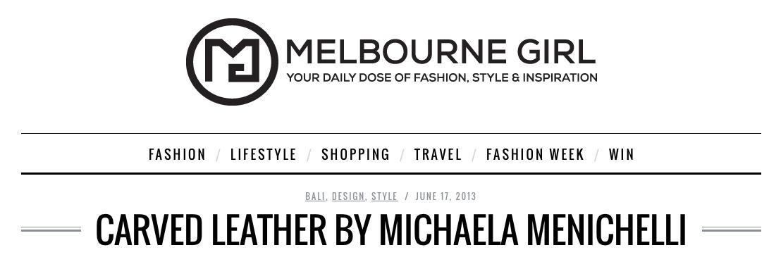 MelbGirl Michaela Menichelli header