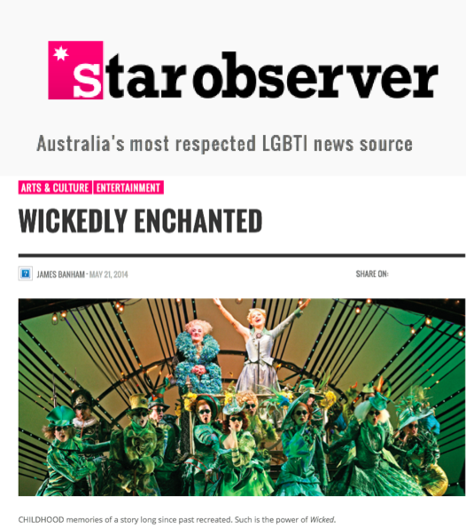 Star Observer online - Wicked 1